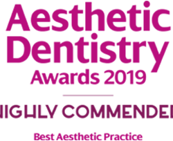 Elleven Dental Aesthetic Dentistry Awards 2019 - Highly Commended Best Aesthetic Practice