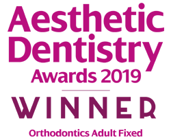 Elleven Dental Aesthetic Dentistry Awards 2019 - Winner Orthodontics Adult Fixed