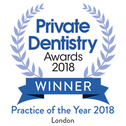 Elleven Dental Private Dentistry Awards 2018 - Practice of the Year 2018