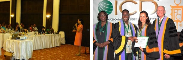 Lecture and Award in Mombasa for Shivani